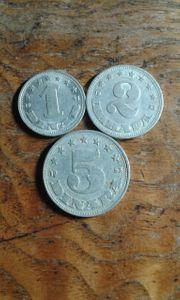 Münzen serie 1953 sehr rar
