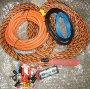 Kabelset 10mm2 Alu für Endstufe