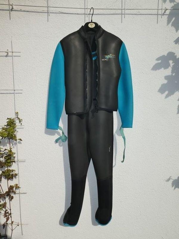 Neopren Anzug zweiteilig Gr 48