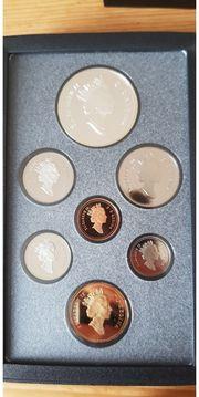 Kanadische Münzsammlung 1993