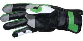 Motorradhandschuhe Rindsleder grün weiß scharz: Kleinanzeigen aus Pfatter - Rubrik Motorradbekleidung Herren