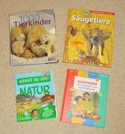 Auswahl Wissensbücher Natur