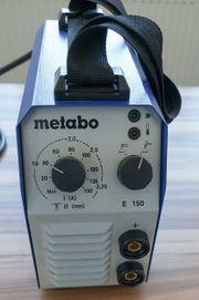 Metabo E150 E-Hand- WIG-Inverterschweissgerät