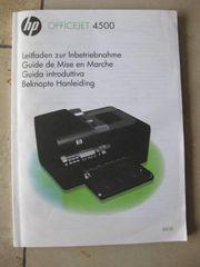 Bedienungsanleitung für HP Officejet 4500