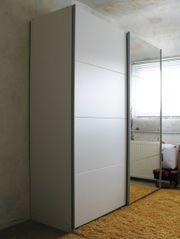 Schwebetürenschrank Kleiderschrank mit Spiegeltür