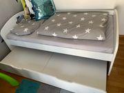 kinder Bett 2er aus echtem