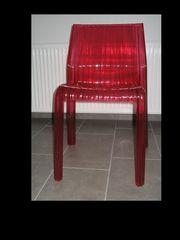 Stuhl Kartell fuchsia Frilly Polycarbonat