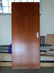 Zimmertür aus Holz stabile schwere