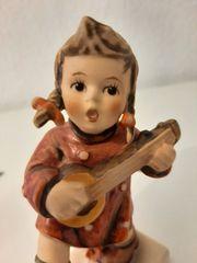 Hummelfigur Sammelfigur Mädchen mit Mandoline -