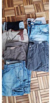 23 Stück Herrenhosen Jeans Shorts