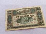 10 Korona Banknote 1920 zu