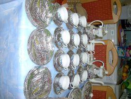 Geschirr und Besteck - Original Englisches Tafel Kaffeeservice