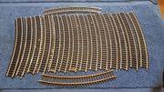 16 Roco 4430 gebogene Gleis