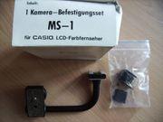 Kamera-Befestigungsset MS-1 für CASIO LCD-Fernseher