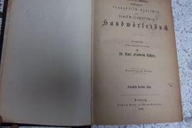Antiquarisches Wörterbuch franz - deutsch: Kleinanzeigen aus Fürth Dambach - Rubrik Fach- und Sachliteratur