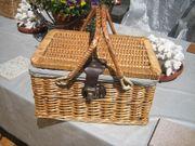Wunderbarer Picknickkorb 35x28 5cm 23cm