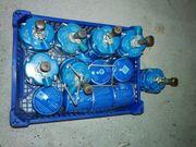 6 Gaskartuschen 7 Brenner Propan
