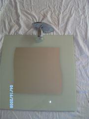 2 Badezimmerspiegel mit Leuchten