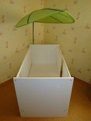 Babybett Kinderbett Gitterbett inkl Matratze