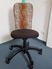 Schreibtischstuhl verstellbar mit Rollen