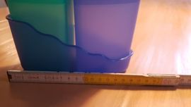 Haushaltsgeräte, Hausrat, alles Sonstige - Tupperware Tupper Junge Welle 5-teilig