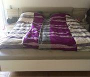 Schlafzimmer Doppel Bett nur Gestell