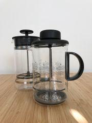 Kaffeebereiter und Milchschäumer Set