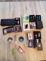 Großes Kit mit elektronischen Zigaretten -