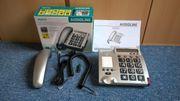Senioren-Festnetz-Telefon Audioline BigTel48