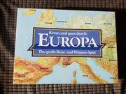 Kreuz und quer durch EUROPA -
