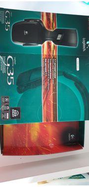 Logitech G35 PC-Gaming Kopfhörer schnurgebunden
