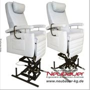 Doppelter Hub im Sessel in