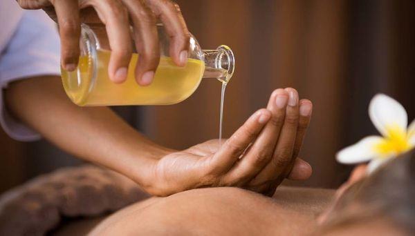 Massage für die gestresste Dame
