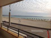 Möblierte 3-Zimmer-Wohnung ditekt am Strand