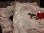 Zwei weisse Poloshirt 2XL