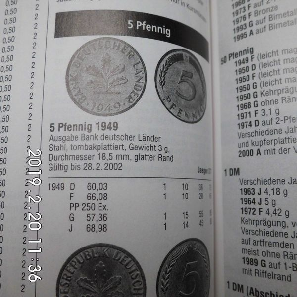 D-Mark 5 Pfennig 1976 - Bremen - 5 Pfennig 1976 D-J ZirkuliertPreis incl. Versand - Bremen