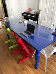 Tisch Poliform Blau Matt 8-10 Personen