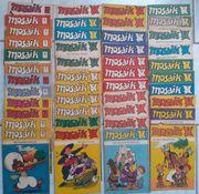 Mosaik Abrafaxe div Hefte 1976 -