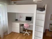 Kinder-Hochbett STUVA mit Schreibtisch