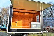 Verkaufsanhänger Verkaufswagen mit Backofen UNOX