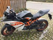 KTM RC 125 unfallfrei Scheckheftgepflegt