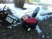 Schneefräse Honda Neuwertig