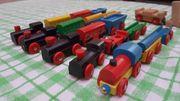 Holz Eisenbahn 250 Teile wie