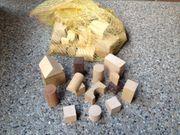 Naturholzbausteine unbehandelt