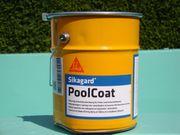 Schwimmbad Farbe