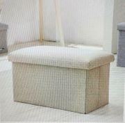 Sitzbank mit Stauraum NEU 40x25x25cm
