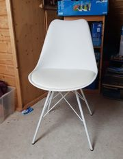 Verkaufe wunderschönen weißen Stuhl aus
