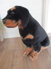 Plüschhund Rottweiler