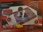 Aufbewahrungsbox mit Spielmatte Cars