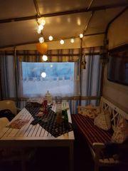 Ostsee Wohnwagen mit Pütt und